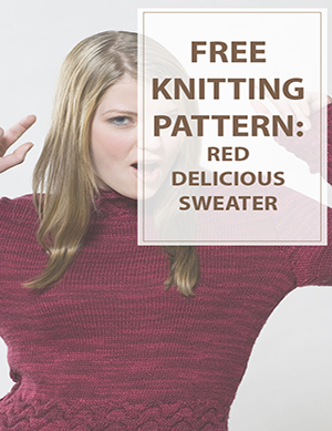 Red Delicious Sweater Knitting Pattern