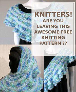 The Ruffled Free Knitting Pattern