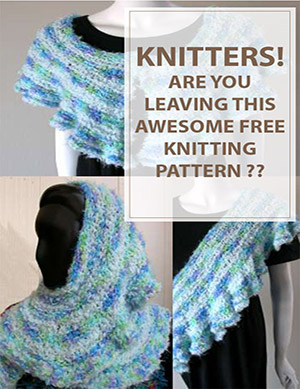 The Ruffled Free Knitting Pattern