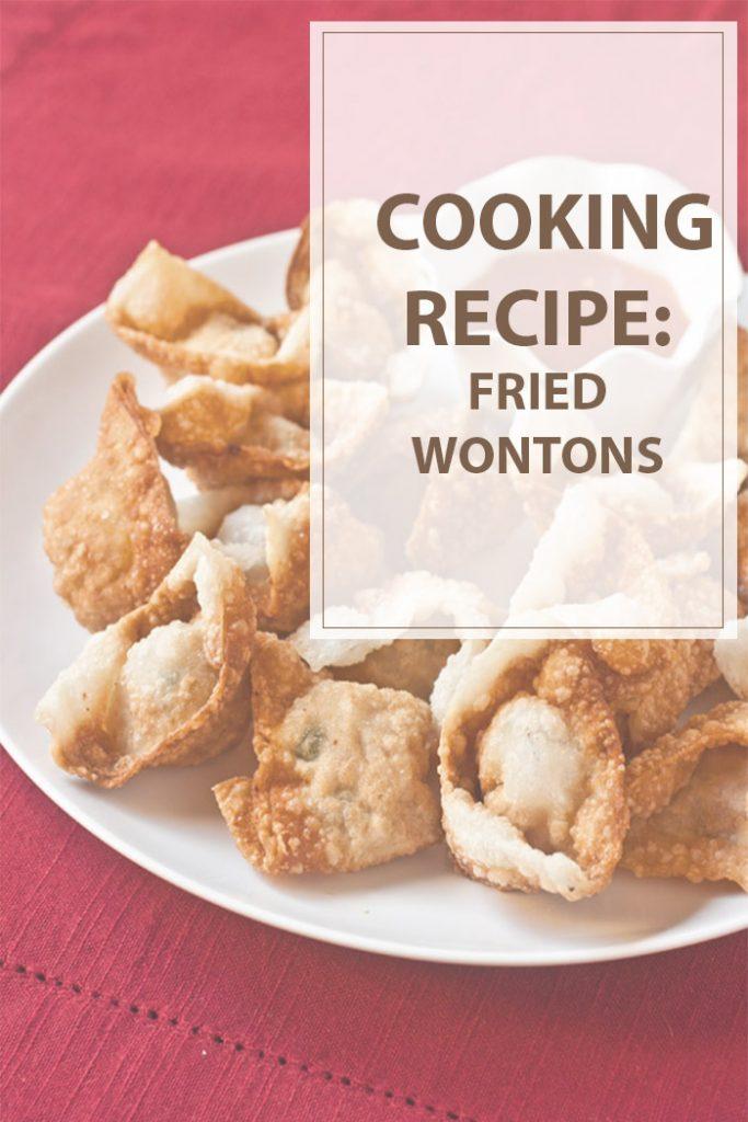 Fried Wontons Cooking Recipe