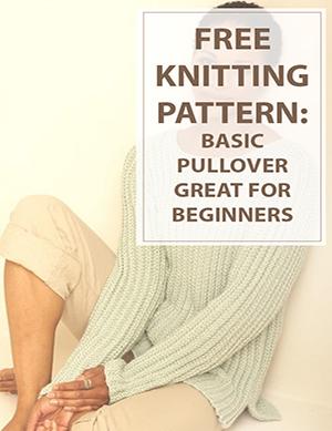 Knitting Pattern Basic Pullover