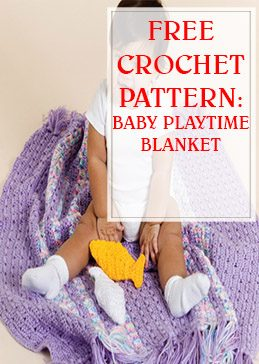 Baby Playtime Blanket Free Crochet Pattern thump