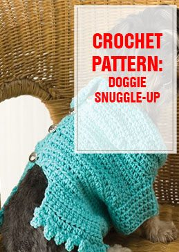 CROCHET PATTERN Doggie Snuggle-up THUMP