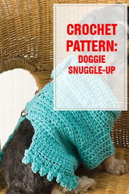 CROCHET PATTERN Doggie Snuggle-up THUMP