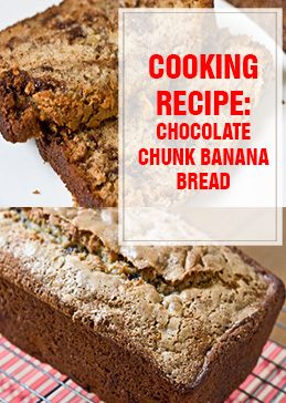 Chocolate Chunk Banana Bread Cooking Recipe thump