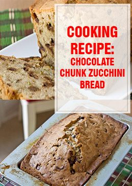 Chocolate Chunk Zucchini Bread Cooking Recipe THUMP