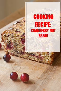 Cranberry Nut Bread Cooking Recipe THUMP