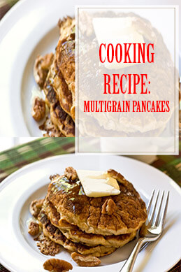 Multigrain Pancakes Cooking Recipe THUMP