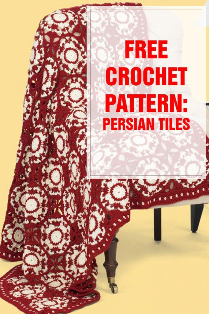 Persian Tiles Free Crochet Pattern