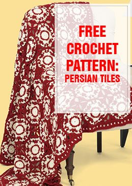 Persian Tiles Free Crochet Pattern THUMP