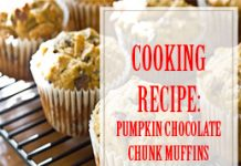 Pumpkin Chocolate Chunk Muffins Cooking Recipe thump
