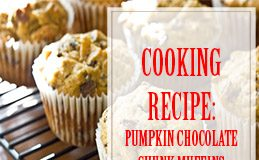 Pumpkin Chocolate Chunk Muffins Cooking Recipe thump