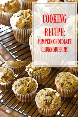 Pumpkin Chocolate Chunk Muffins Cooking Recipe