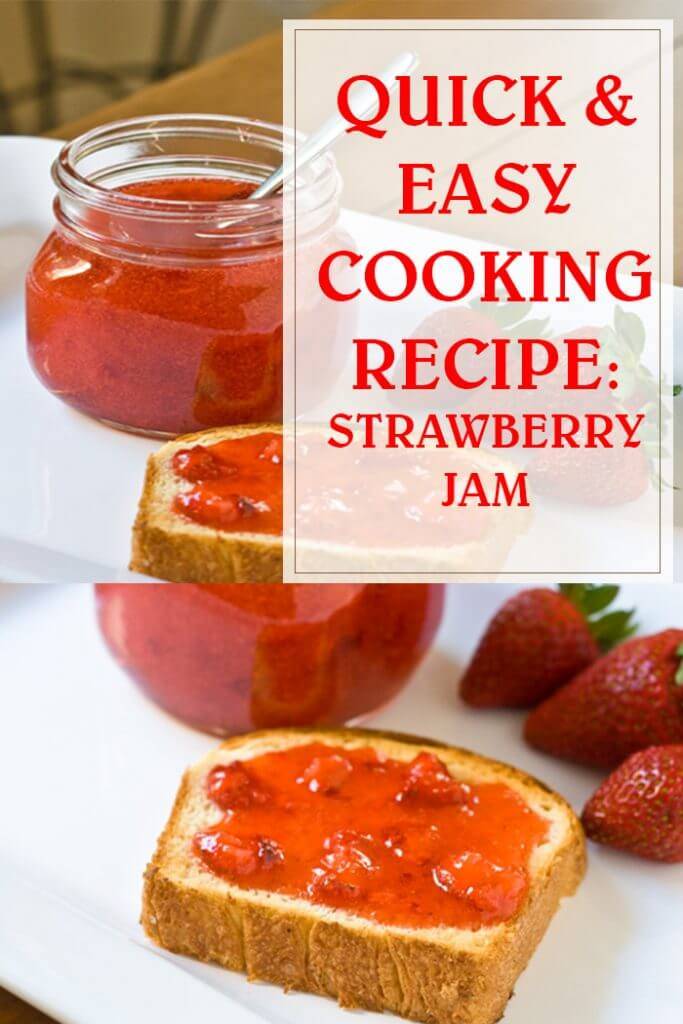 Quick & Easy Strawberry Jam Recipe