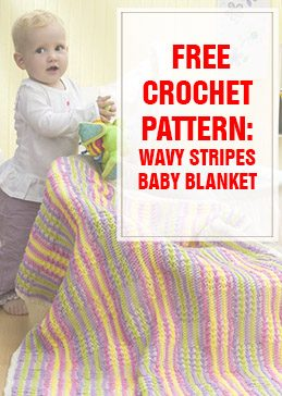WAVY STRIPES BABY BLANKET THUMP