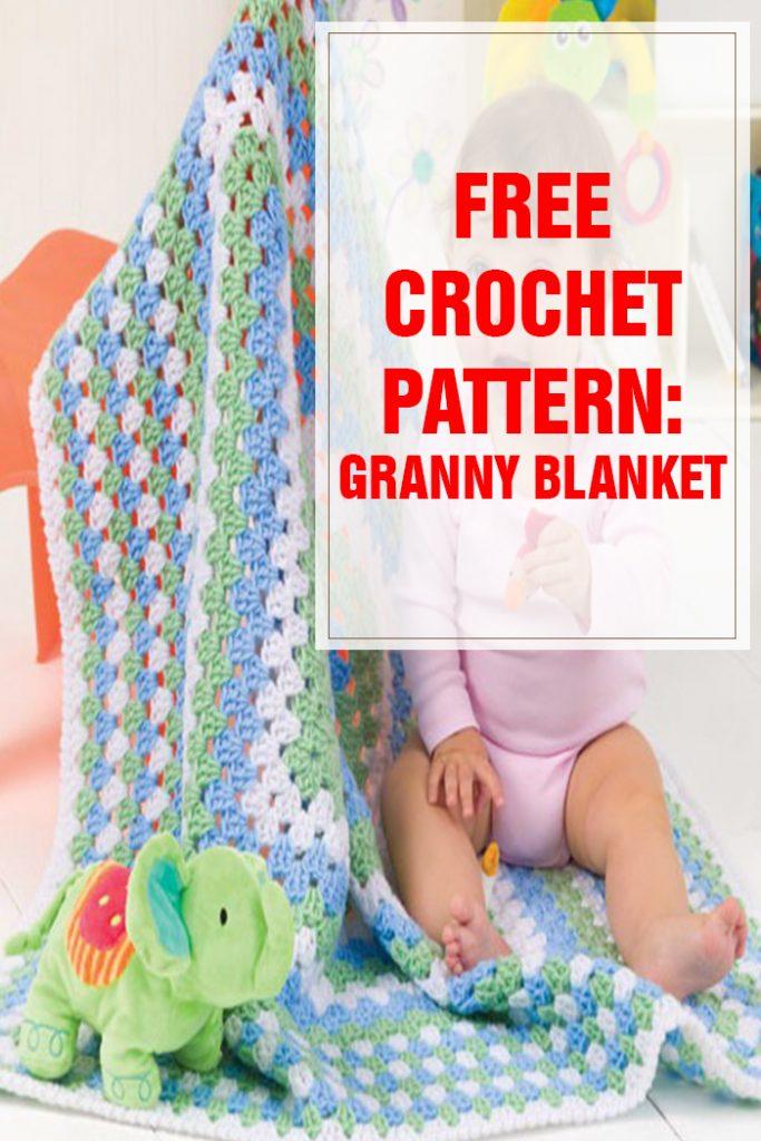 free crochet pattern Granny Blanket