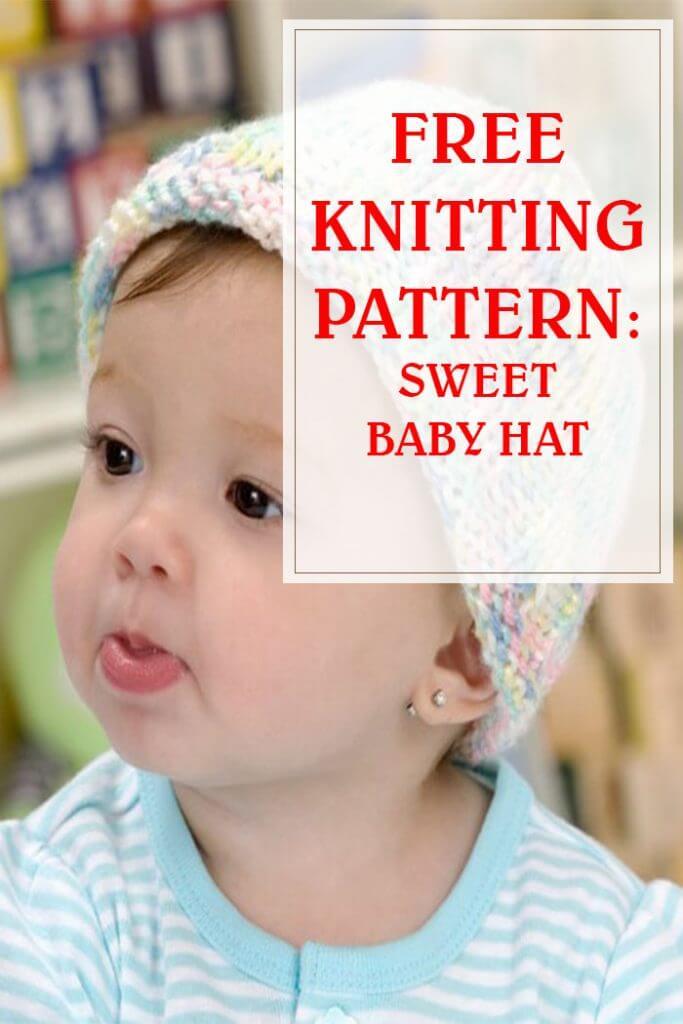 Free Knitting Sweet Baby Hat