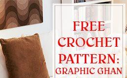 Graphic Ghan Free Crochet Pattern THUMP