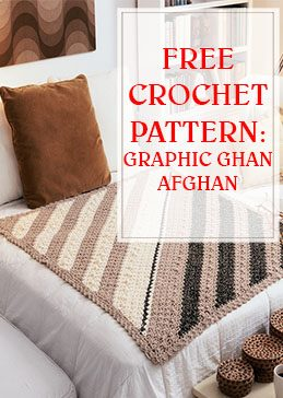 Graphic Ghan Free Crochet Pattern THUMP