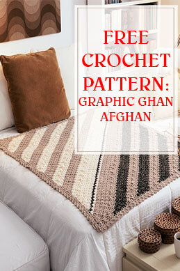 Graphic Ghan Free Crochet Pattern