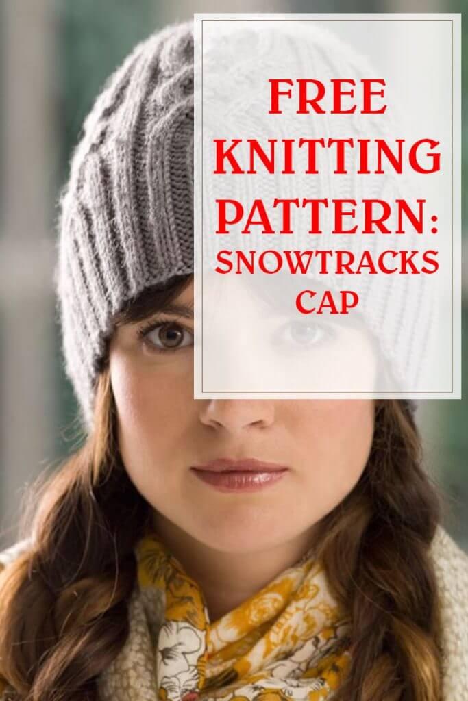 Snowtracks Cap Free Knitting Pattern