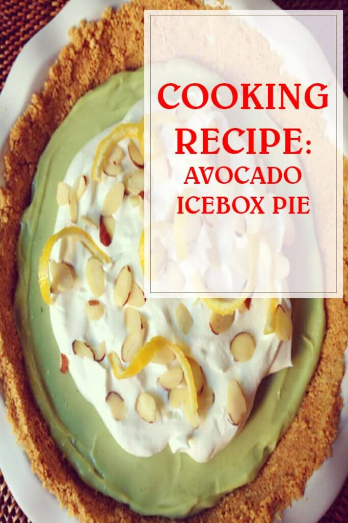 Avocado Icebox Pie Recipe