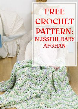 Blissful Baby Afghan Crochet Pattern THUMP