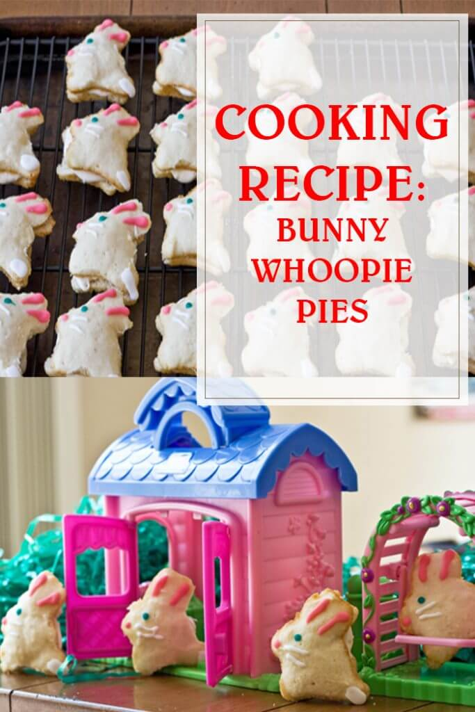Bunny Whoopie Pies Cooking Recipe