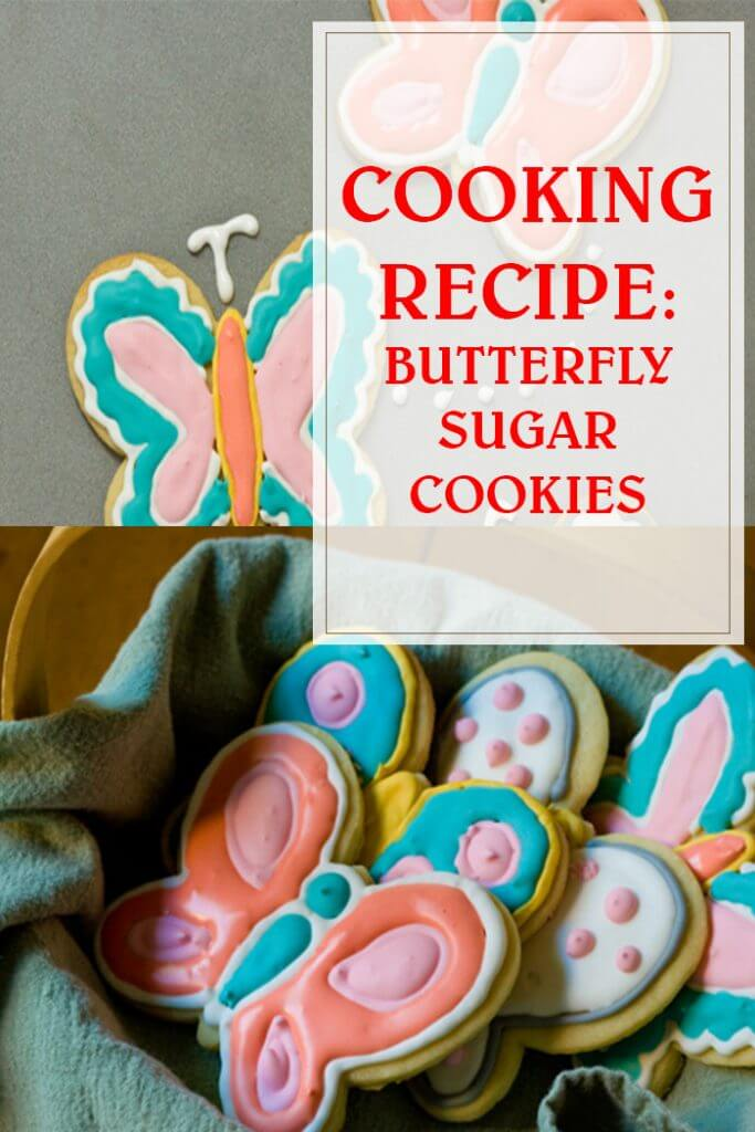 Butterfly Sugar Cookies Cooking Recipe