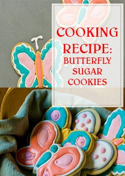 Butterfly Sugar Cookies Cooking Recipe THUMP