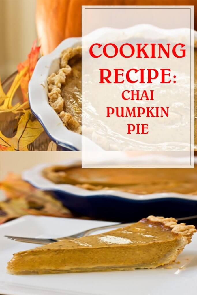Chai Pumpkin Pie Cooking Recipe