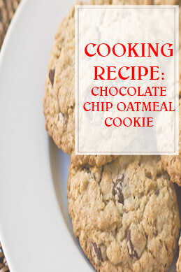 Chocolate Chip Oatmeal Cookies THUMP