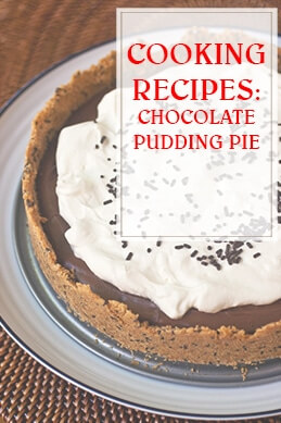 Chocolate Pudding Pie Cooking Recipe THUMP