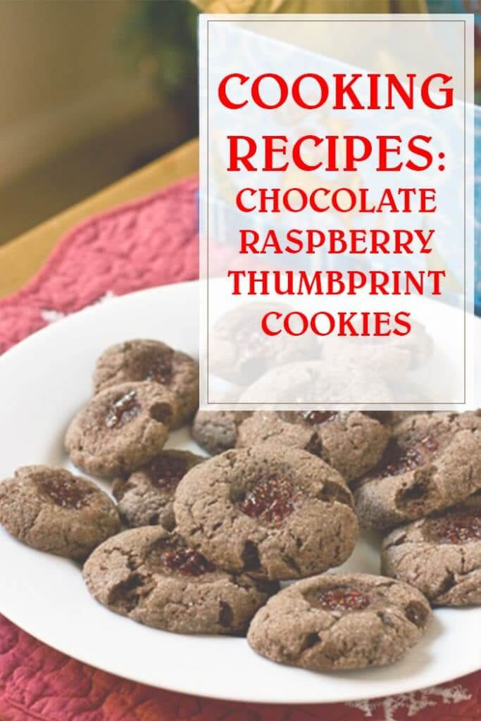 Chocolate Raspberry Thumbprint Cooking Recipe
