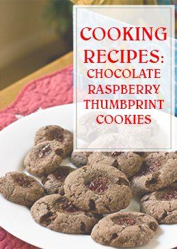 Chocolate Raspberry Thumbprint Cooking Recipe THUMP