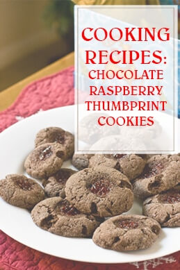 Chocolate Raspberry Thumbprint Cooking Recipe THUMP