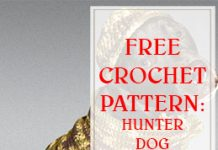 FREE CROCHET PATTERN HUNTER DOG