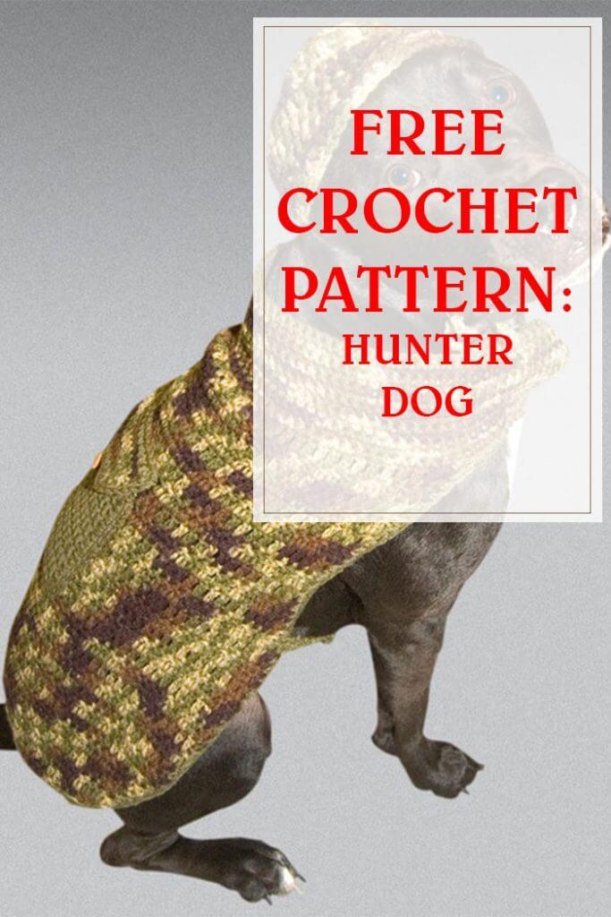 FREE CROCHET PATTERN HUNTER DOG PINTEREST