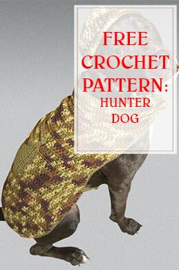 FREE CROCHET PATTERN HUNTER DOG