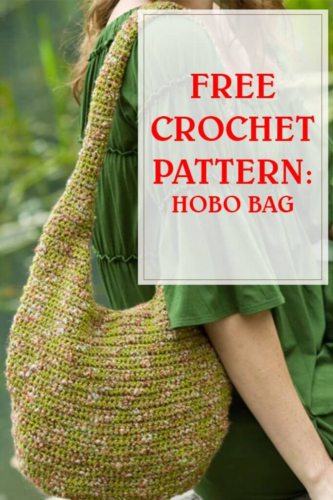 Free Crochet Pattern Hobo Bag