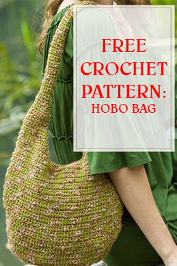 Free Crochet Pattern Hobo Bag thump