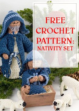Nativity Set Free Crochet Pattern thump