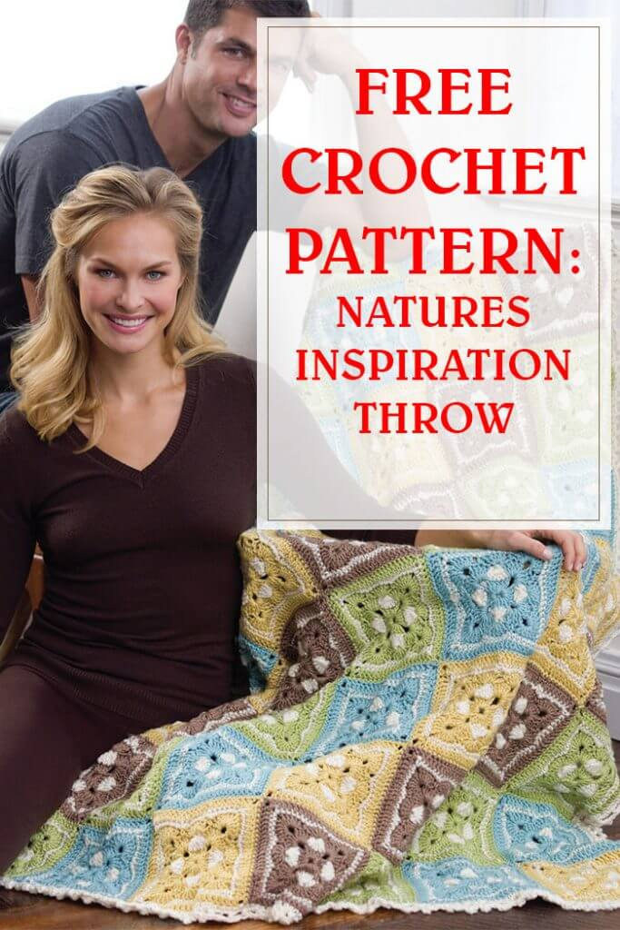 Natures Inspiration Throw Crochet Pattern