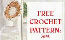 free crochet pattern spa necessities