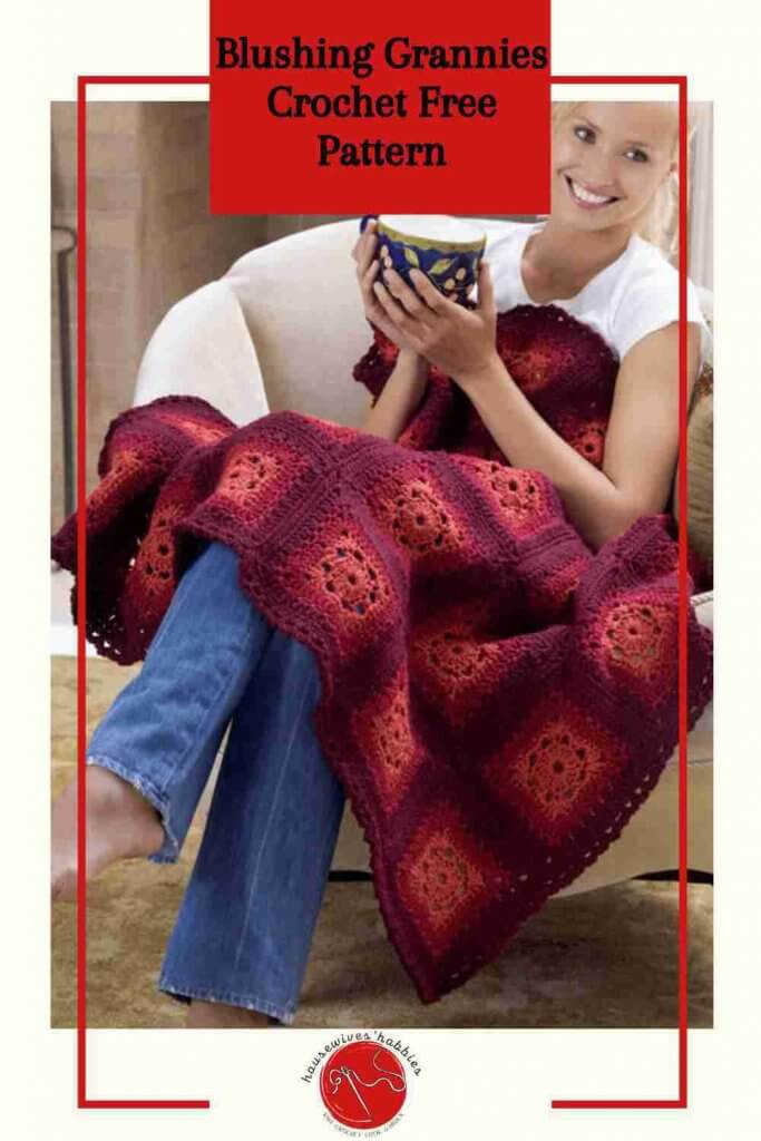 Blushing Grannies Crochet Free Pattern
