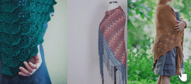 Knitting Patterns Shawls & Cowls