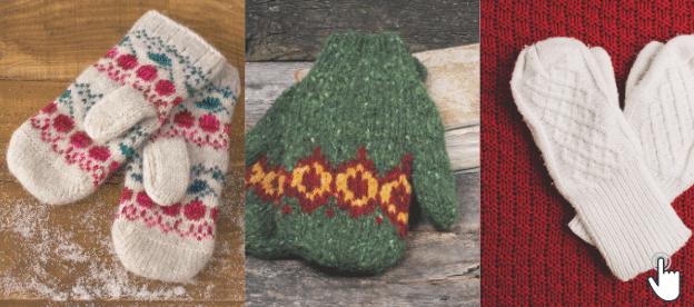 Knitting Patterns Mittens