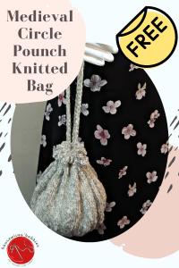Circle Pouch Free Knitting Pattern