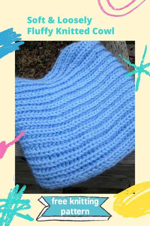 Free Knitting Pattern Fluffy Clouds Cowl