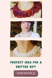 Free Knitting Pattern Knecklace